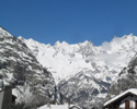 Ski chalet apartment near Courmayeur, Italy